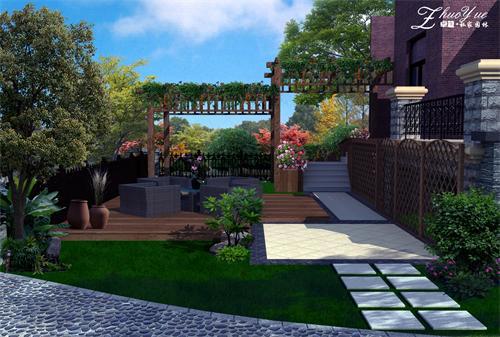 小庭园设计